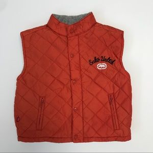 Ecko Unlimited quilted fleece lined vest, 18 mo